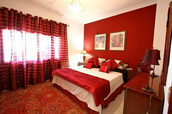 Red Bedroom Design A Cool Features