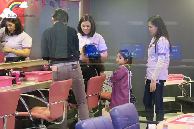 Kidzania Manila beauty salon