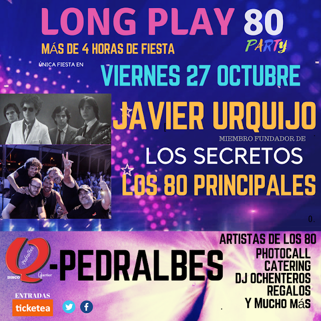 Flyer Long Play 80 Party