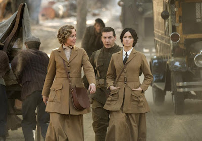 Abigail Spencer and Susanna Thompson in Timeless Season 2
