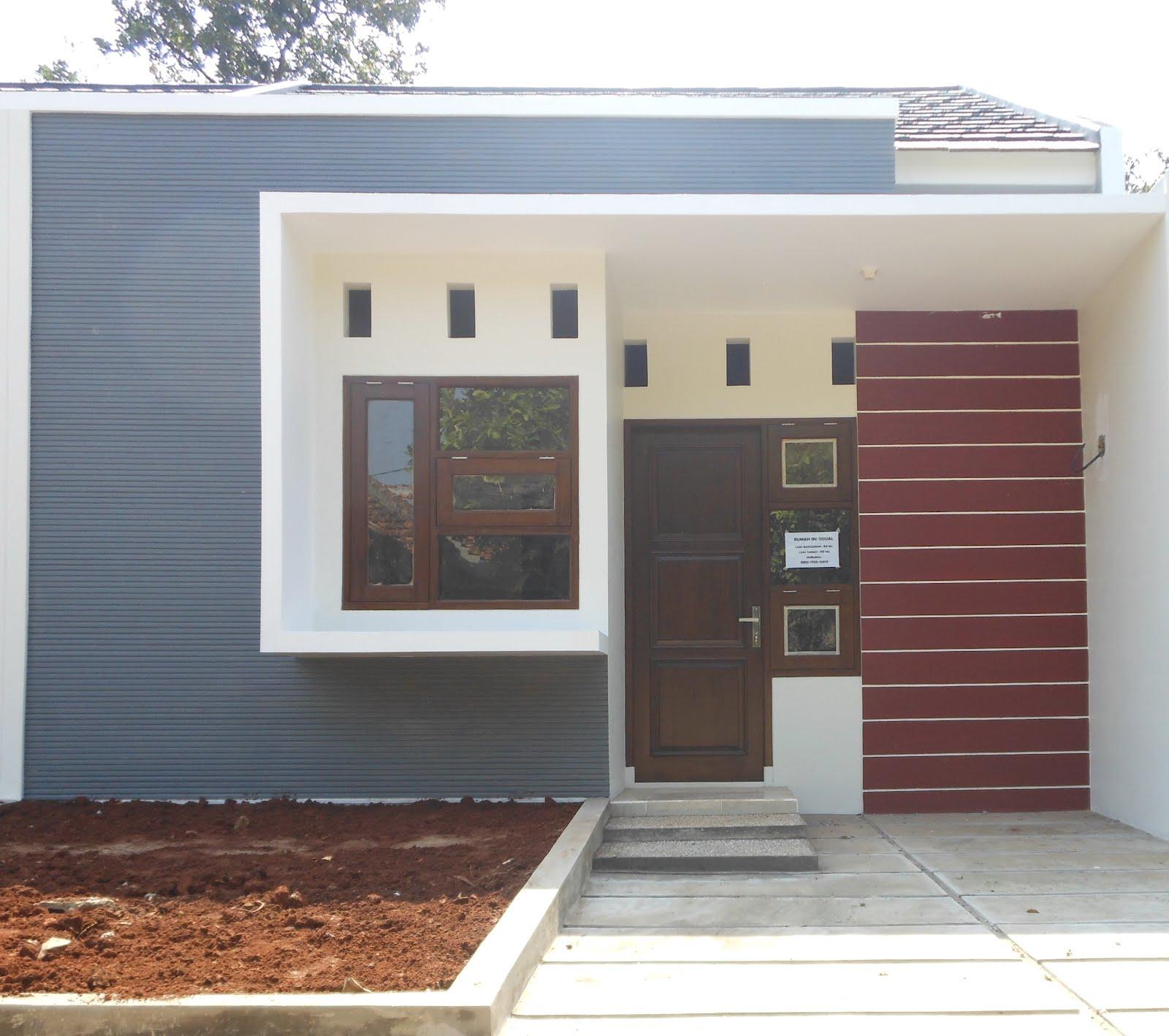 Gambar Desain Rumah Minimalis Atap Cor Wallpaper Dinding