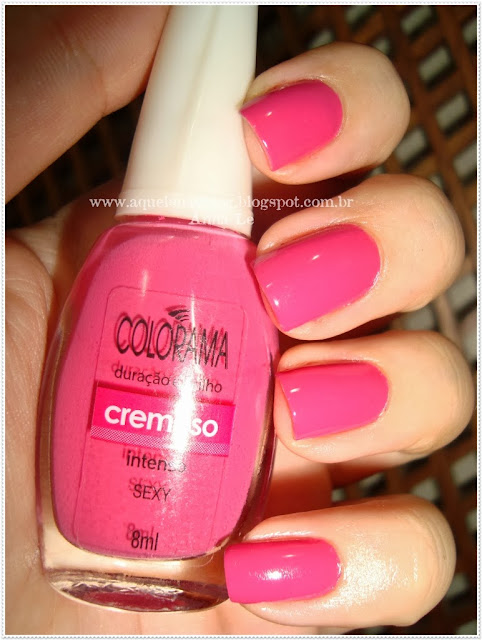 Sexy Colorama Esmalte Nailpolish Rosa