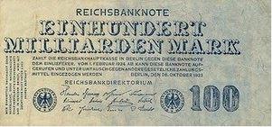 Seratus Triliyun Mark – Jerman