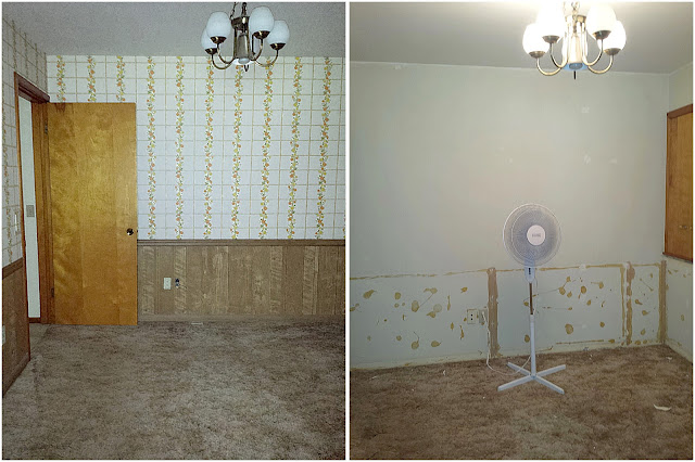 Dining room changes
