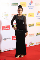 Vennela in Transparent Black Skin Tight Backless Stunning Dress at Mirchi Music Awards South 2017 ~  Exclusive Celebrities Galleries 074.JPG