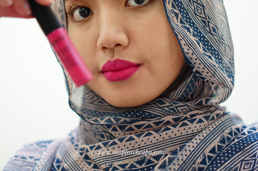 lipstik ungu purple lipstick matte