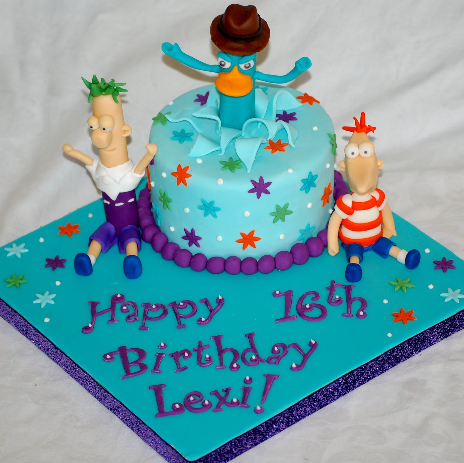Cakefilley Phineas And Ferb Birthday Cake
