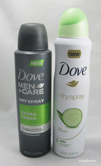 Dove Dry Spray Review- Influenster TryDry Spray VoxBox