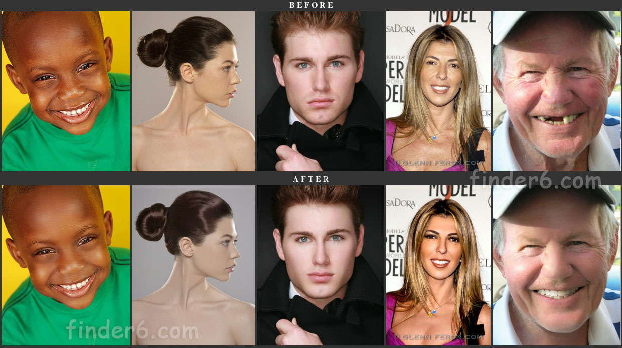 14 bodies of famous celebrities with and without photoshop, #2 looks