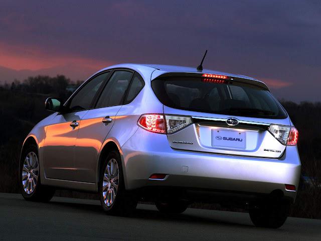 Subaru convoca Impenza e Outback para recall