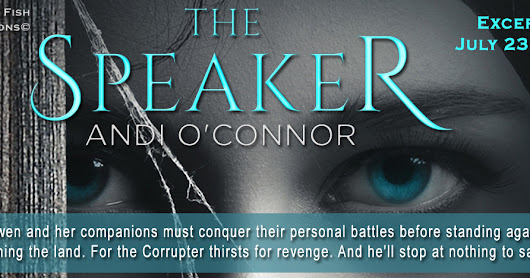 The Speaker by Andi O'Connor - Book Tour - Exclusive Excerpt - Giveaway - Enter Daily!