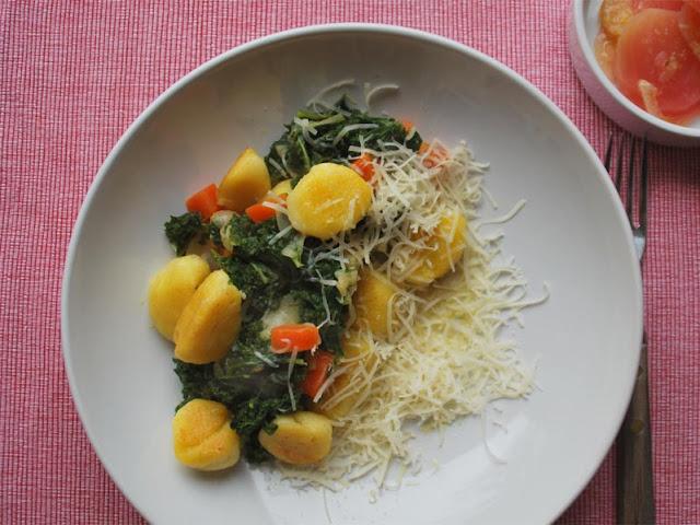 Gnocchi mit Grünkohlgemüse | pastasciutta