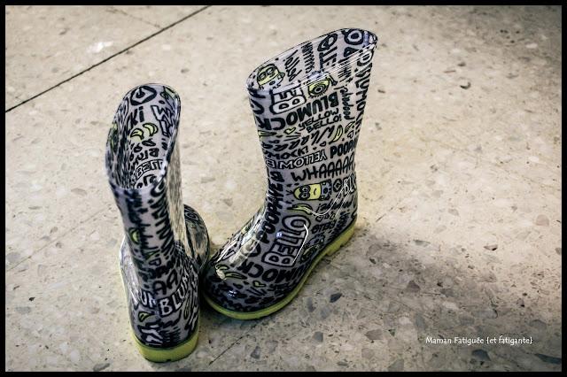 bottes de pluie