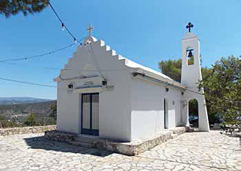 Γιορτάζει ο Ιερός Ναός της Αγίας Ερμιόνης στην Ερμιόνη Αργολίδας
