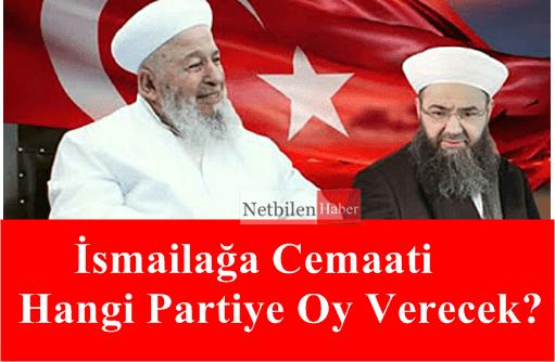 Mahmud efendi hz cemaati hangi partiye oy verecek