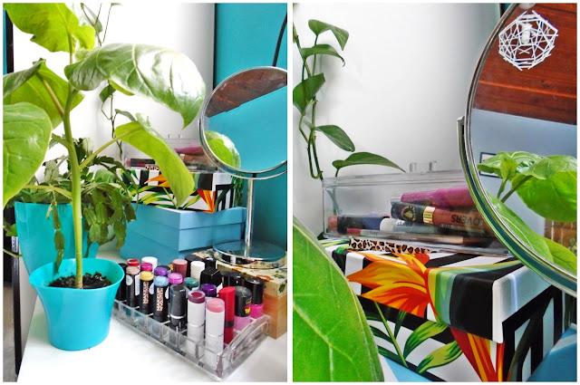 Jak przechowuję swoje kosmetyki [organizacja lub jej brak :) ]
