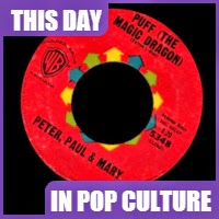 """Puff the Magic Dragon"" landed #2 on the pop charts on May 11, 1963."