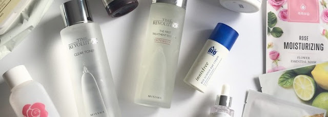 Hybrid serum step Korean skin care routine