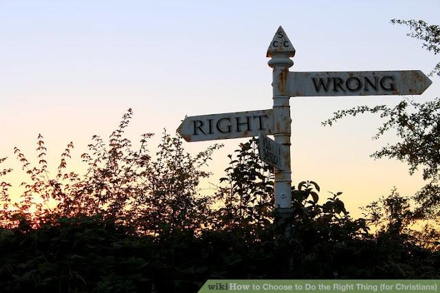 Pilih jalan yang benar