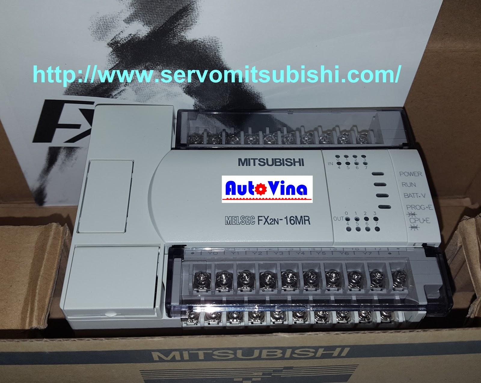 Đại lý bán, phân phối hàng PLC Mitsubishi FX2N-16MR-001 giá tốt nhất