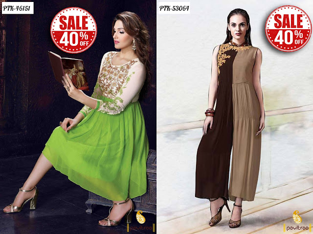 Women's day special gift kurtis sale Online