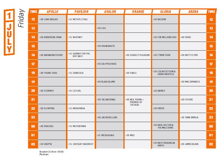 dagsprogram roskilde 2016