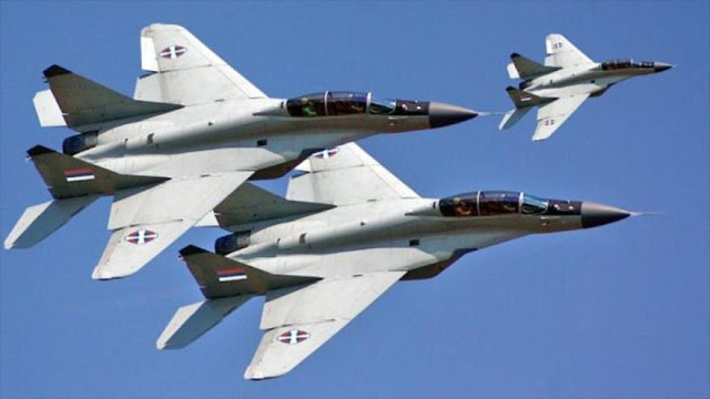 Serbia comprará cazas rusos para contrarrestar amenazas de OTAN