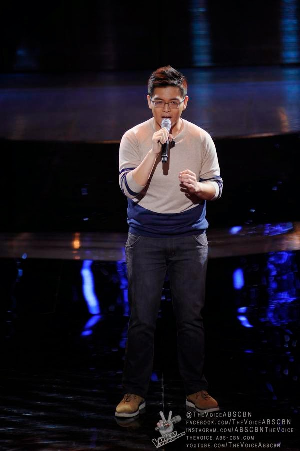Chemist Philippe Go auditions on 'The Voice PH' Season 2