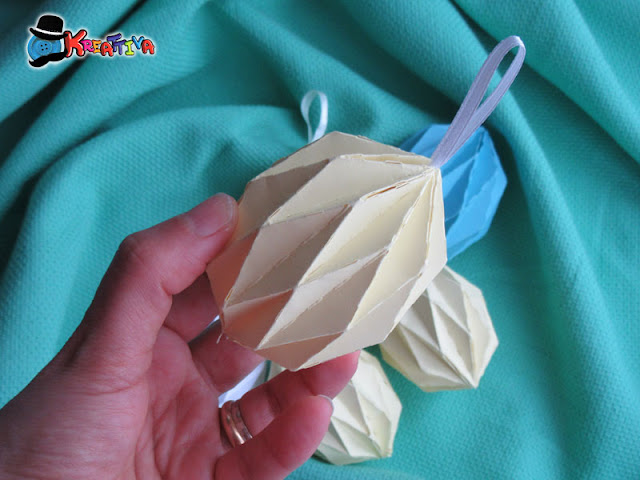 Uova di pasqua in Origami