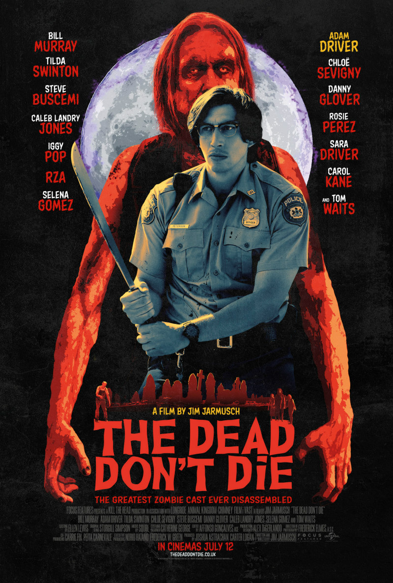 The Dead Don't Die poster adam driver