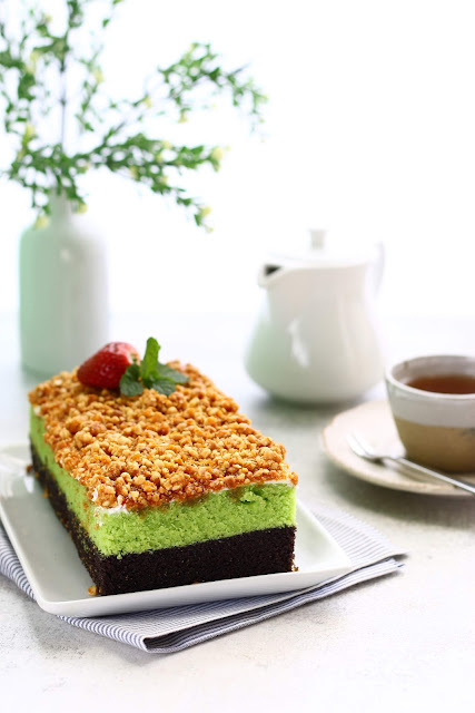 Brownies Kukus Ketan Hitam Talas Bika Talubi Bogor
