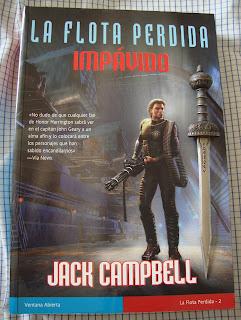 Portada del libro Impávido, de Jack Campbell
