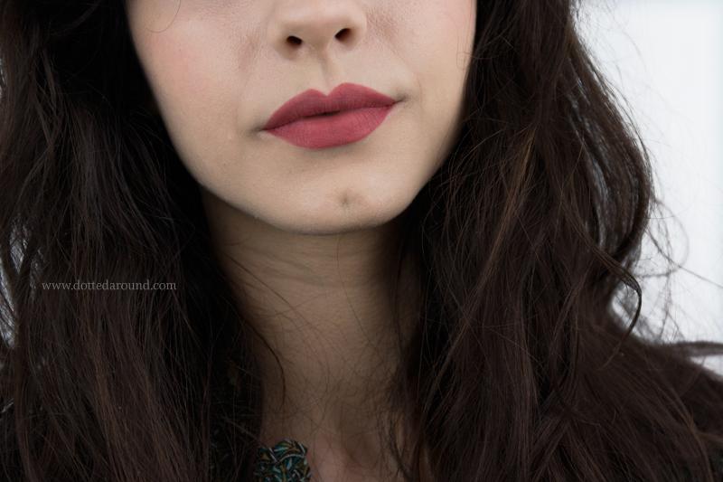 Kat Von D Lolita Studded Lipstick swatch