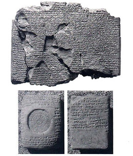 Hitit'lere ait bir duvar yazısı