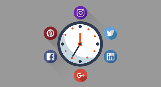 infografis, waktu efektif promosi artikel blog, promosi blog, waktu tepat mempromosikan artikel blog di sosial media, promosi artikel blog di facebook, twitter, google plus, intagram, pinterest, linkedin, cara mempromosikan artikel blog, cara mendapatkan pengunjung blog secara organik, cara mendapatkan pengunjung blog dari sosial media