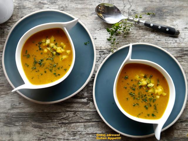 Zupa z dynii i mango. Super fit - Czytaj więcej »