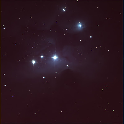 NGC 1977 in LRGB colour