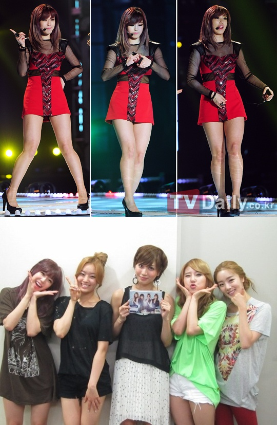 Kpop Weight Loss Before And After : weight, before, after, NEWS], Secret's, Before, After, Photo, Shows, Weight, Daily