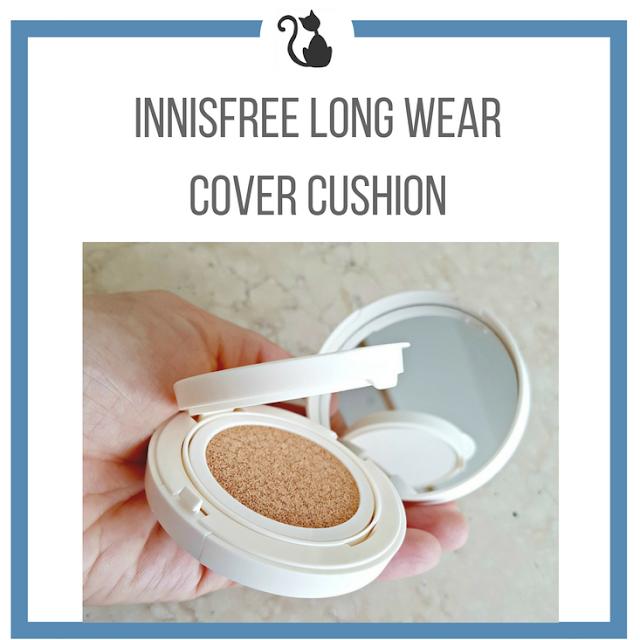 Podkład w poduszce Innisfree Long Wear Cover Cushion - recenzja