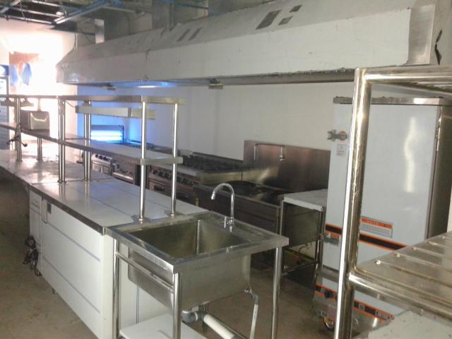 Tempat pembuatan peralatan dapur restoran dari stainless steel custom  Jual Meja Stainless dan