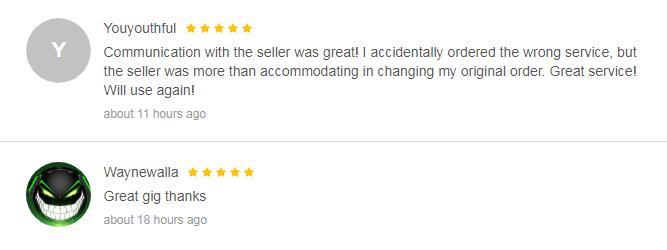 Best Fiverr SEO Gigs: Buyer Reviews