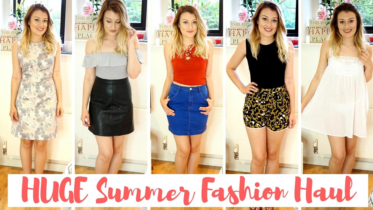 949e208d2d Summer Fashion Haul & Try On | WhatLaurenLovess