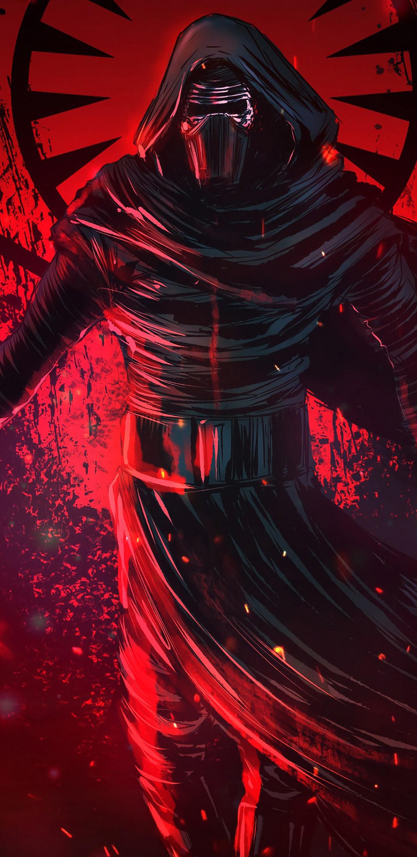 Kylo Ren Lightsaber Star Wars 4k Wallpaper 16