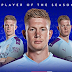 Kevin De Bruyne named Premier League Player of the Season for the 2019/20 campaign.