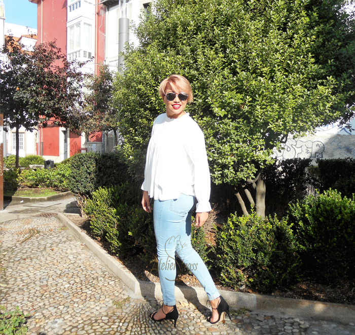 camisa victoriana blanca