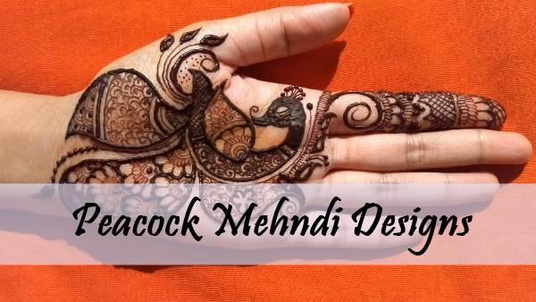Peacock Mehndi Design