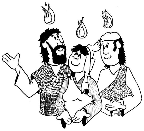 ME ABURRE LA RELIGIÓN: PENTECOSTÉS. LA VENIDA DEL ESPÍRITU SANTO