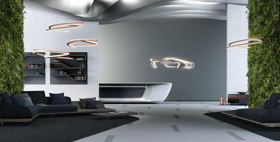 Modular furniture collection by Pininfarina