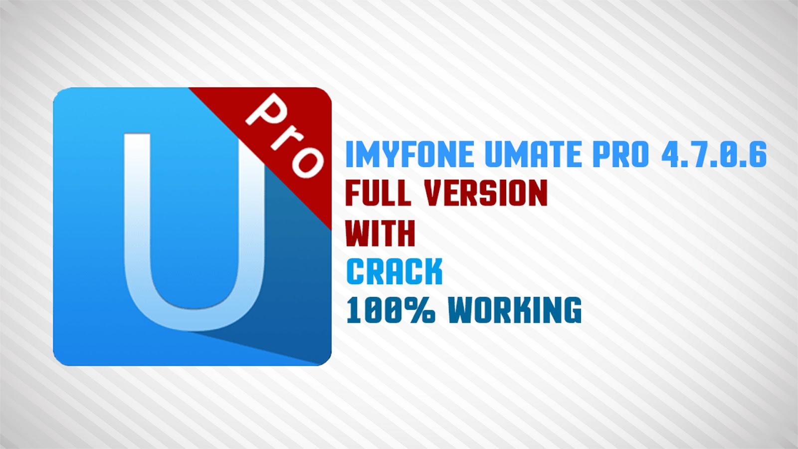 imyfone umate pro download crack