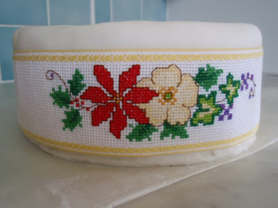 Cross stitch - Cake Band